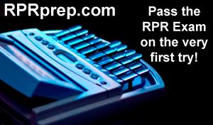 RPR Exam - Registered Professional Reporter